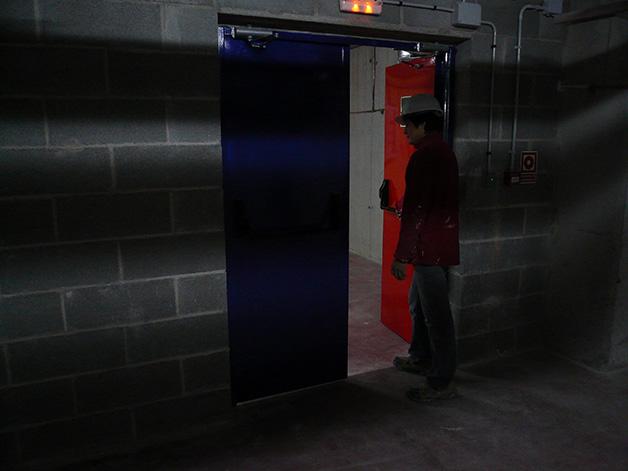 Puerta cortafuegos para sectorizaciones