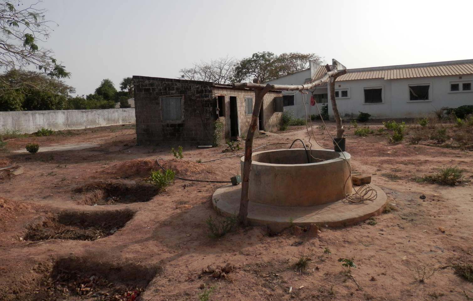 Pozo de extracción del agua